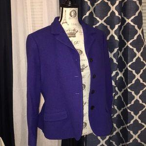 Unique bluish/purple colored blazer